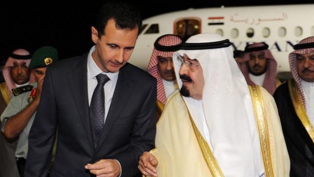 Assad in Region isoliert