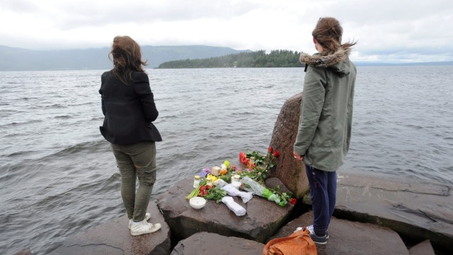 Kontroverse Debatten im Web nach Morden in Norwegen