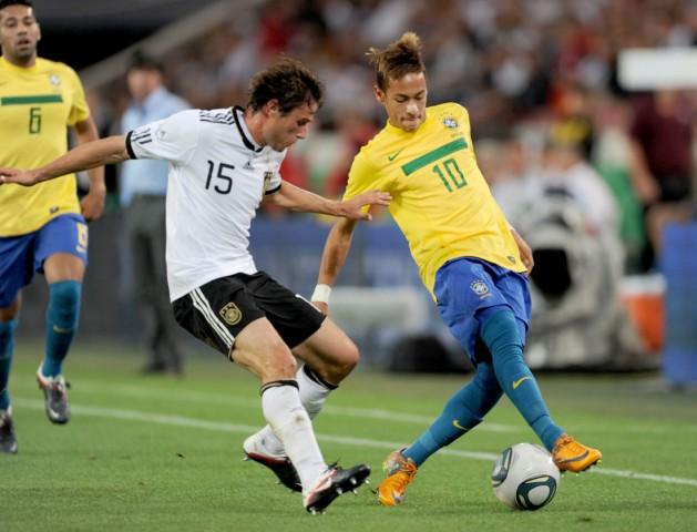 Länderspiel Deutschland - Brasilien