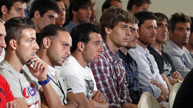 Spanish Primera Division soccer players announce strike