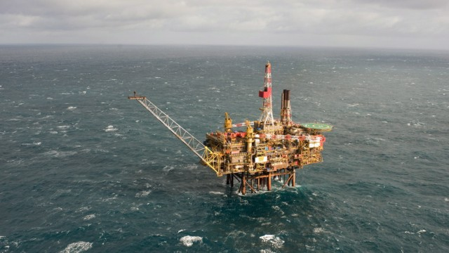 Shell Plattform Bohrinsel BP Statoil