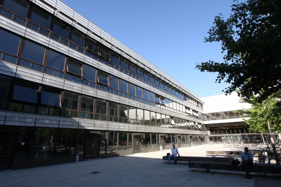 TU Gebäude in München, 2011