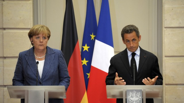 Merkel, Sarkozy hold key talks on eurozone debt