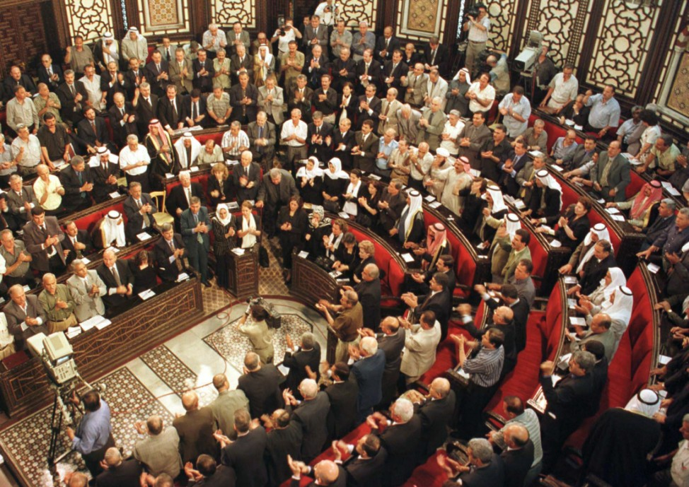 BASHAR AL-ASSAD POISED TO BECOME SYRIA 'S LEADER