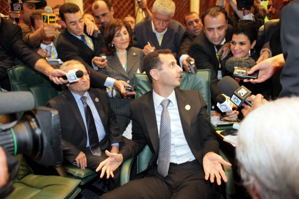 Treffen der Arabischen Liga in Libyen -  Baschar al-Assad