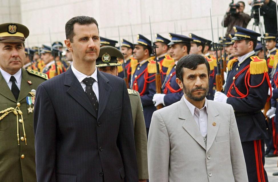 Iranischer Präsident zu Solidaritätsbesuch in Damaskus