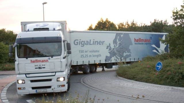 Hermann will Gigaliner nicht über Land fahren lassen