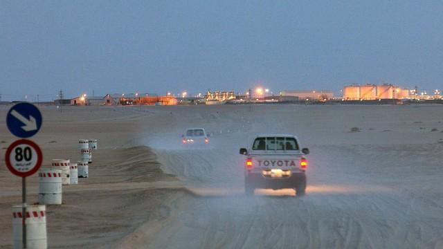 BASF-Tochter Wintershall - Anlagen in Libyen