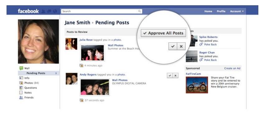 Facebook Einstellungen neu