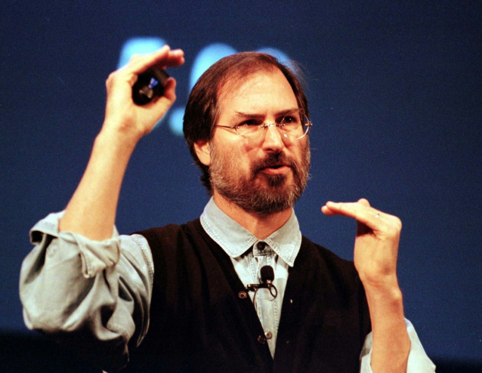 APPLE CEO STEVE JOBS ANNOUNCES NEW G3 COMPUTERS