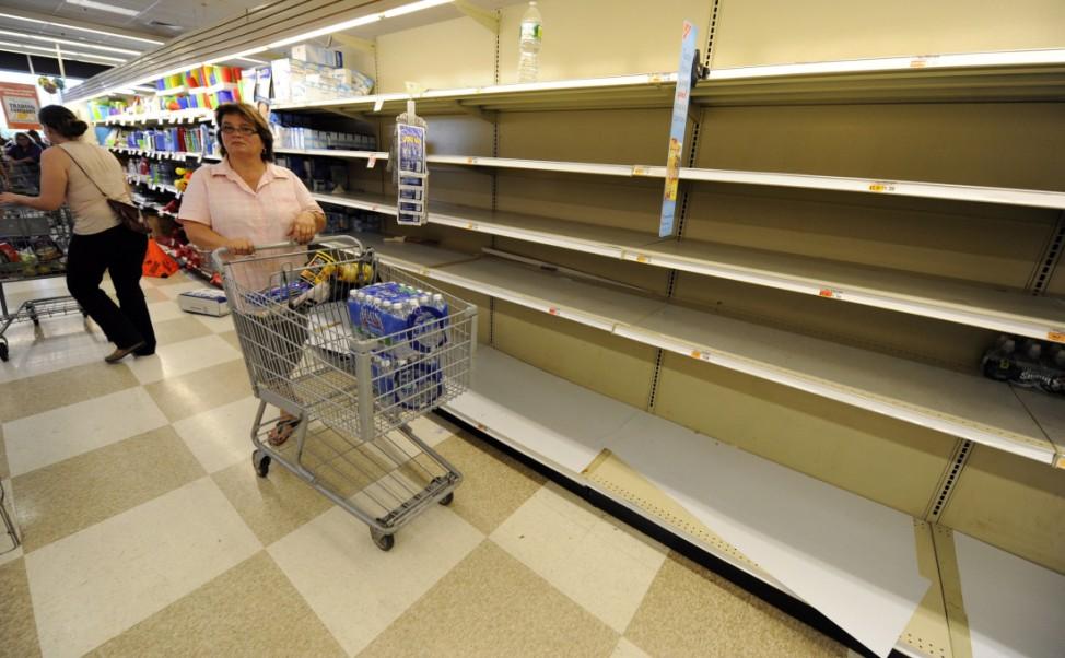 Residents Prepare for Hurricane Irene in New York