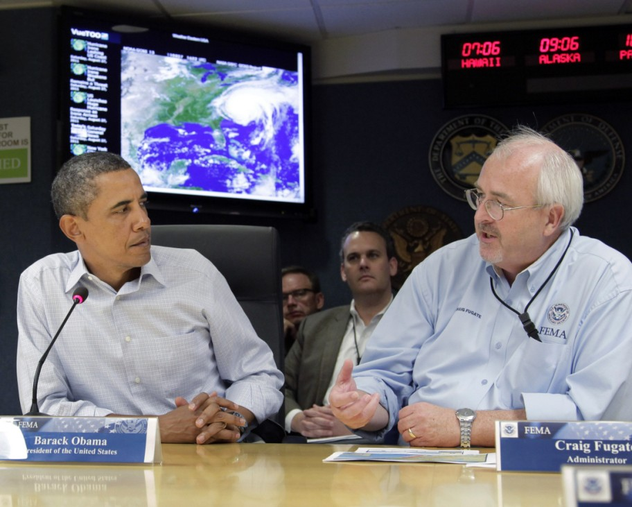Barack Obama, Janet Napolitano, Craig Fugate