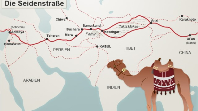 Seidenstraße Legendäre Reiserouten