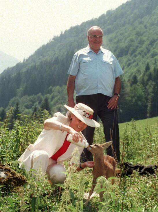 Vorschau: 10. Todestag von Hannelore Kohl