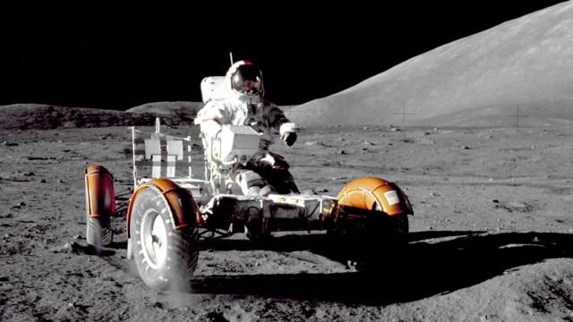 Mondauto der Apollo 17 Mission