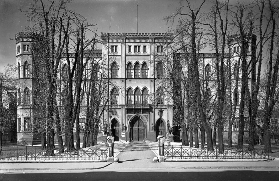 Das Gestapo-Hauptquartier in der Briennerstraße in München, 1933