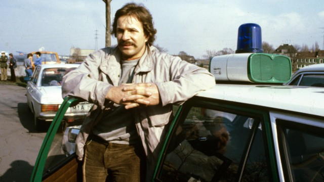 'Tatort'-Jubiläum - Götz George als Kommissar Schimanski