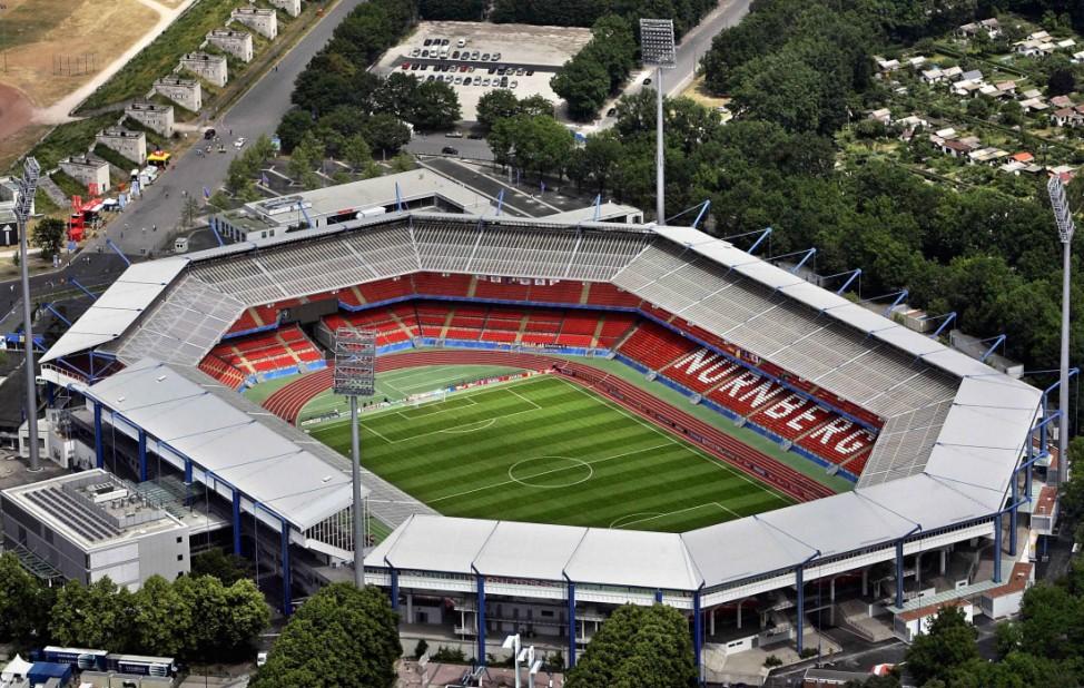 Das Frankenstadion in Nürnberg, 2005