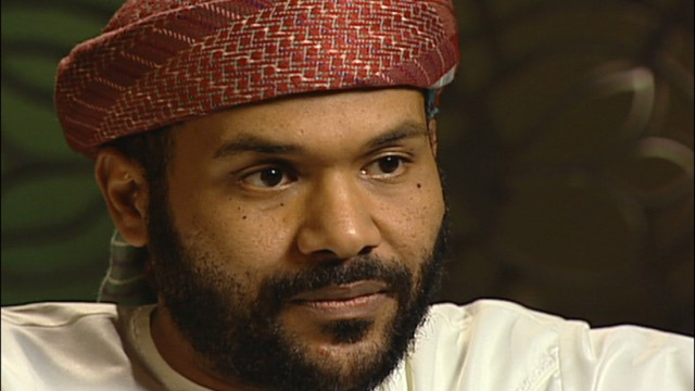 Abu Jandal a former personal bodyguard of Osama Bin Laden during an interview with '60 Minutes'
