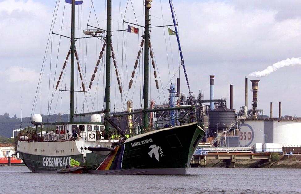 Rainbow Warrior, Flagschiff von Greenpeace
