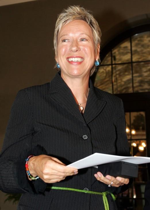 """Doris Dörrie mit Auszeichnung """"Pro Merits Scientae et Literarum"""", 2005"""