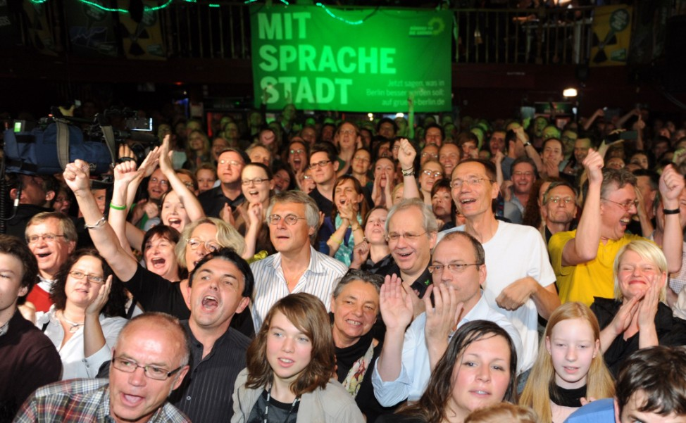 Abgeordnetenhauswahl Berlin - Grüne