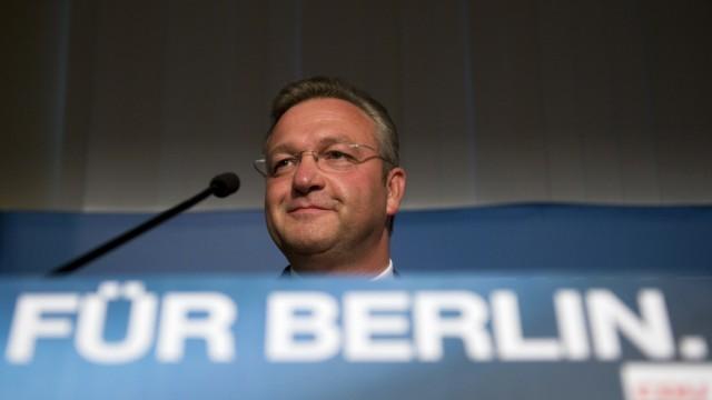 Wahl zum Berliner Abgeordnetenhaus: Wahlparty CDU
