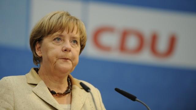 Pressekonferenz der CDU
