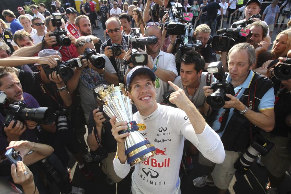 Die Formel 1 verneigt sich vor 'Alleinherrscher' Vettel