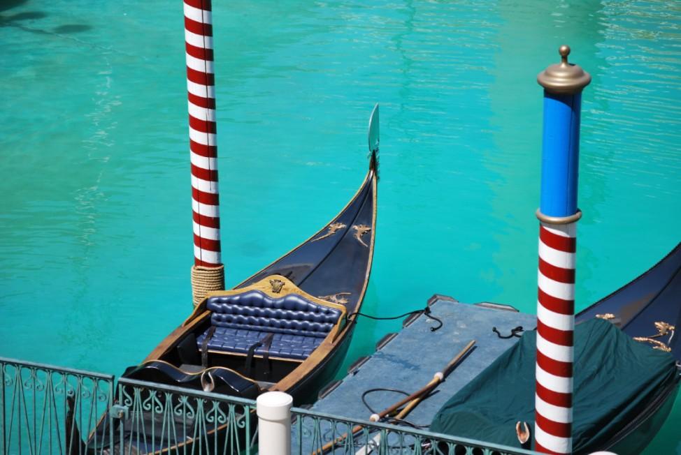 Venedig Italien Gondel
