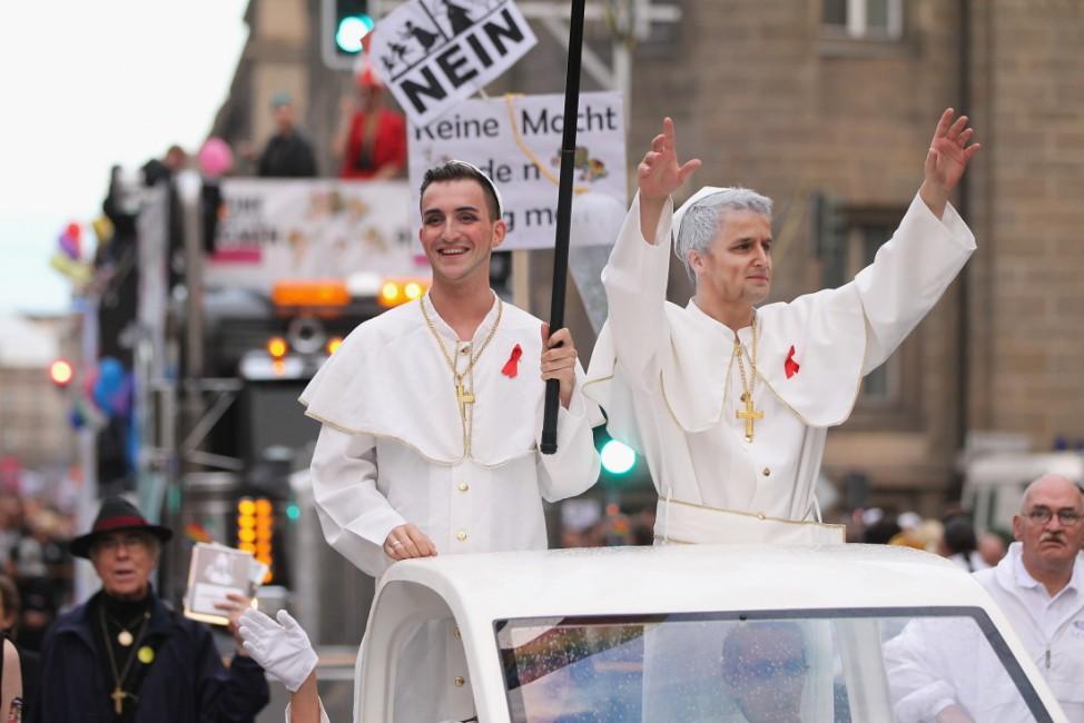 Activists Protest Pope Visit