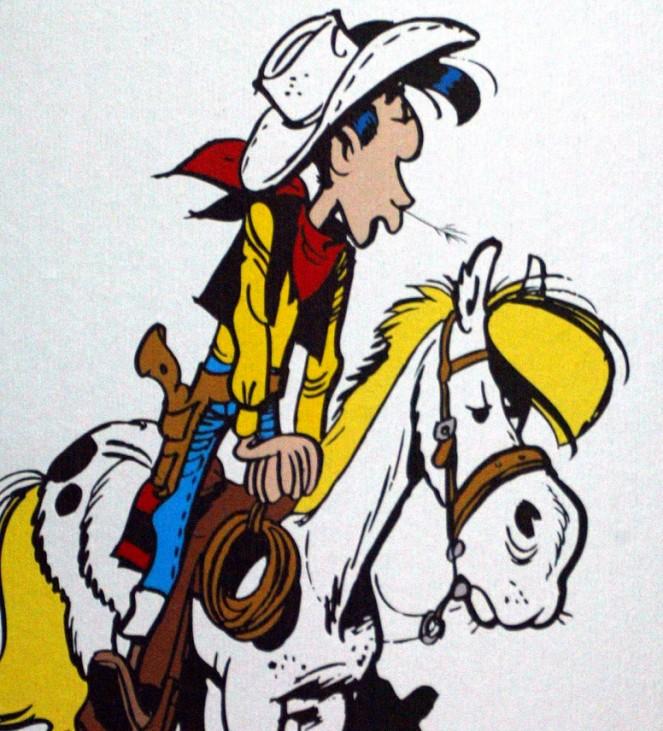 Lucky Luke und Jolly Jumper