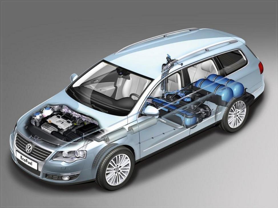 Flottenmanagement VW Passat Erdgas