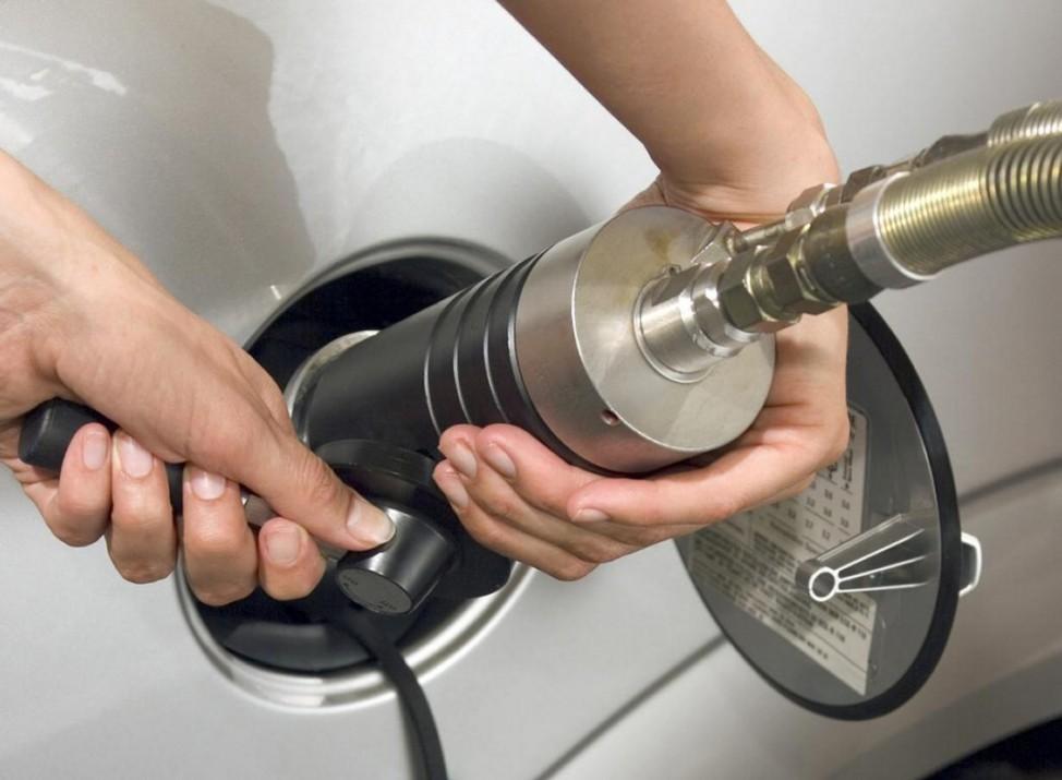 Flottenmanagement Erdgas tanken