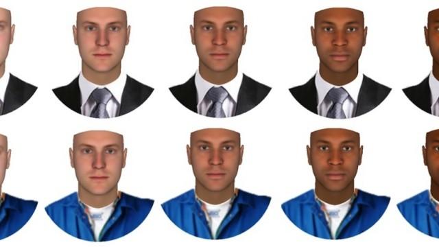 Die Wahrnehmung von Gesichtern hängt von der Kleidung ab
