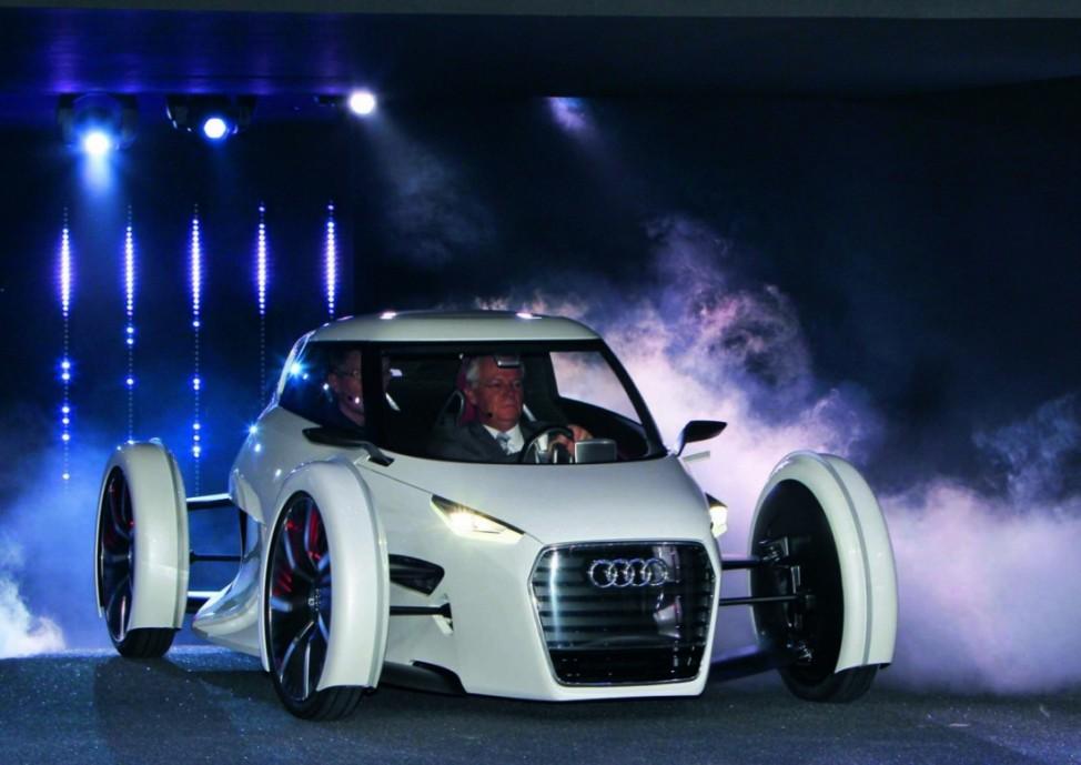 Martin Winterkorn IAA Audi urban concept