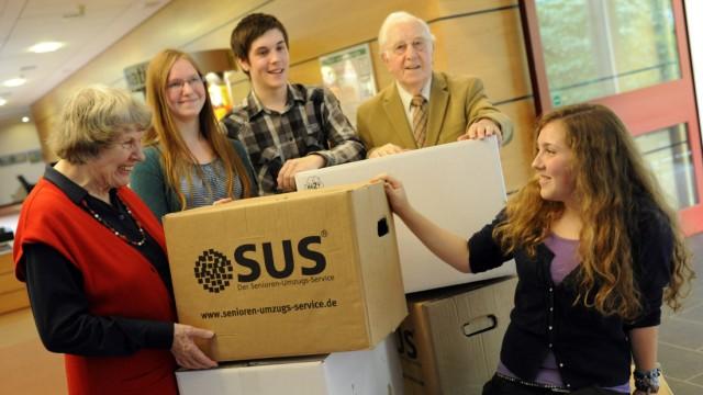 Studenten ziehen in Altenheim ein