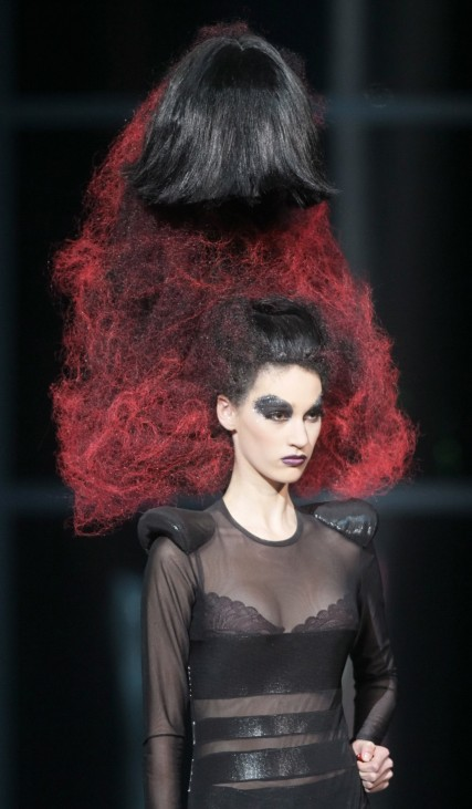 Alternative Hair Show in Moscow