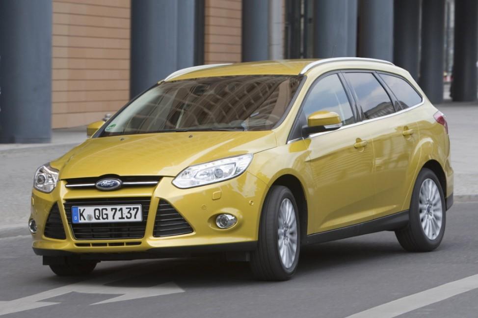 Flottenmanagement Ford Focus