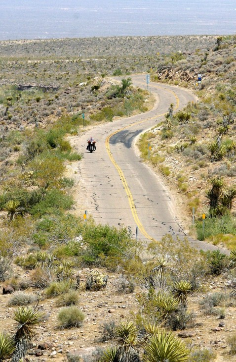 US-ROUTE 66-MOTORCYCLE, Legende und Traum in Amerika: Route 66 in den USA