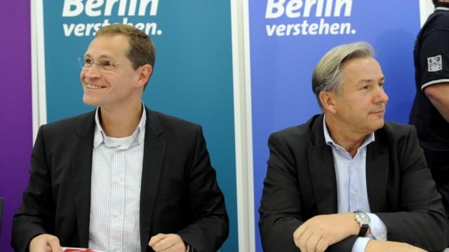 Landesvorstand der Berliner SPD beraet ueber Koalitionsgespraeche mit den Gruenen