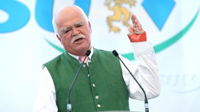 Peter Gauweiler bei Rede auf Aubinger Herbstfest, 2011