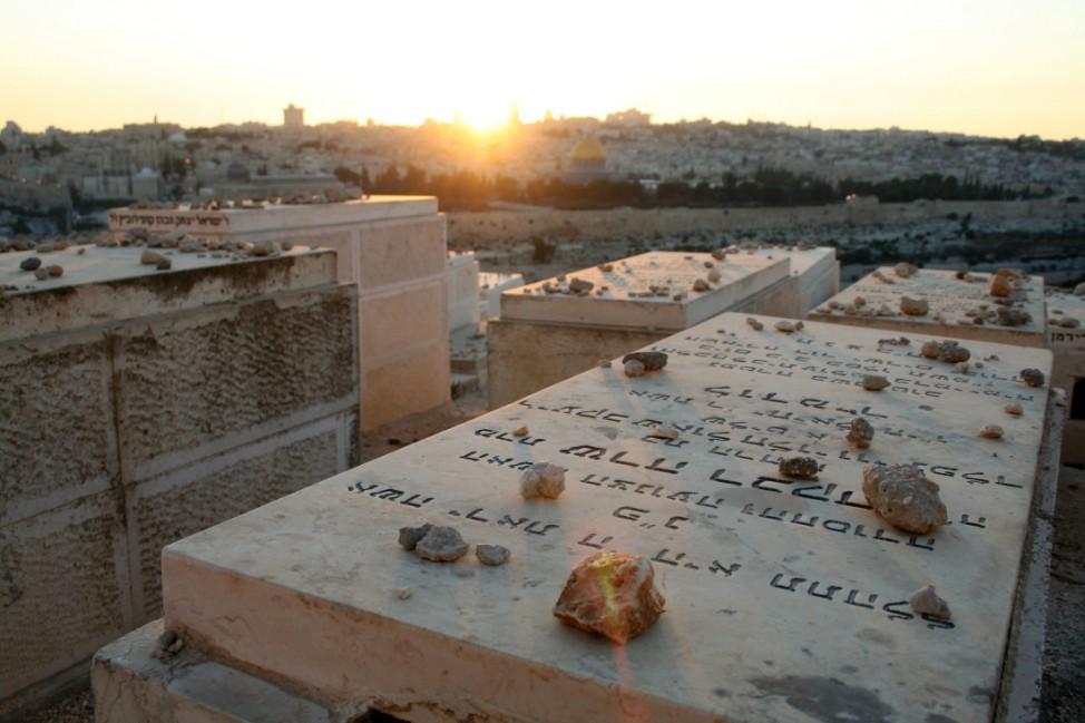 VIP-Platz für die letzte Ruhe - Der Jüdische Friedhof am Ölberg