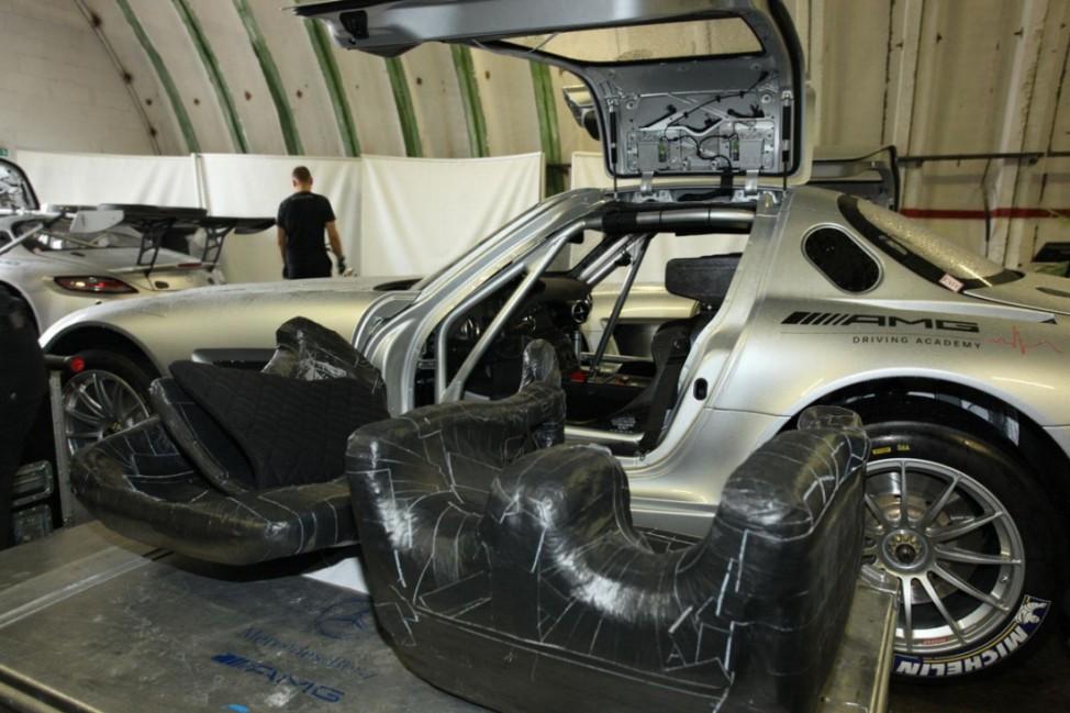 AMG Driving Academy Mercedes SLS AMG GT3