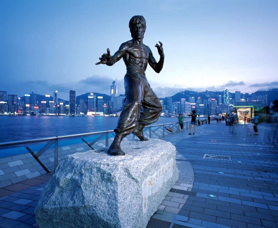 Hongkong Statue Bruce Lee Kowloon