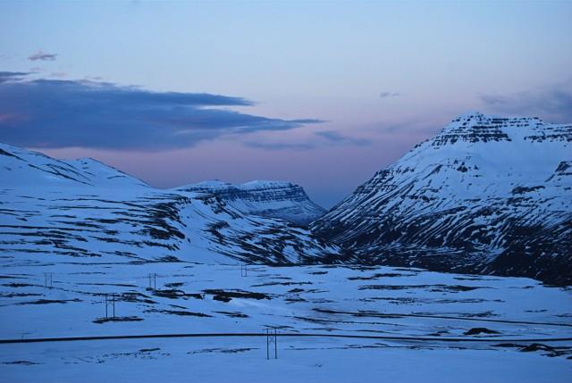 Ostfjorde in der Nähe von Seyðisfjörður, Island