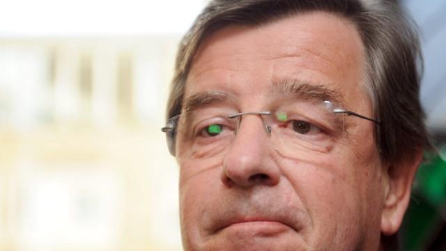 Landtagspräsident Willi Stächele tritt zurück