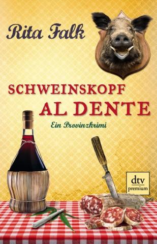 Cover, Schweinskopf al dente, Rita Falk