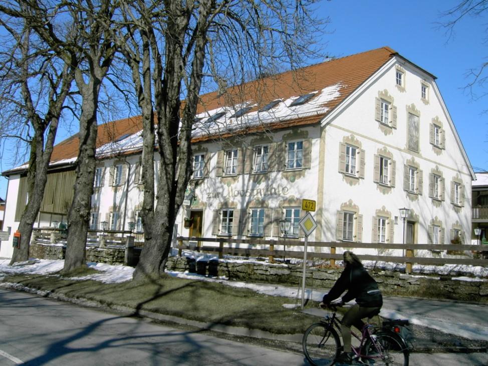 Ausflugsziele in Bayern, Zur Moosmühle, Huglfing