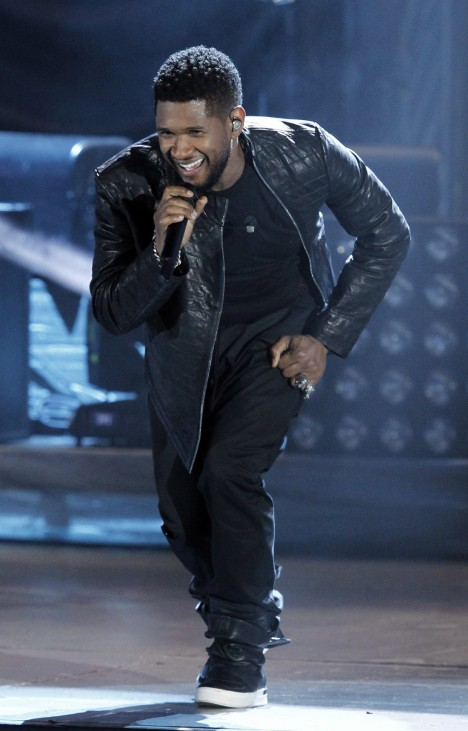 Usher performs during 'A Decade of Difference: A Concert Celebrating 10 Years of the William J. Clinton Foundation' at the Hollywood Bowl in Hollywood